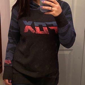 Woman's fox racing sweatshirt